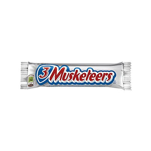 MARS 3 MUSKETEERS Chocolate Singles Size Candy Bars 1.92-Ounce Bar 36-Count Box