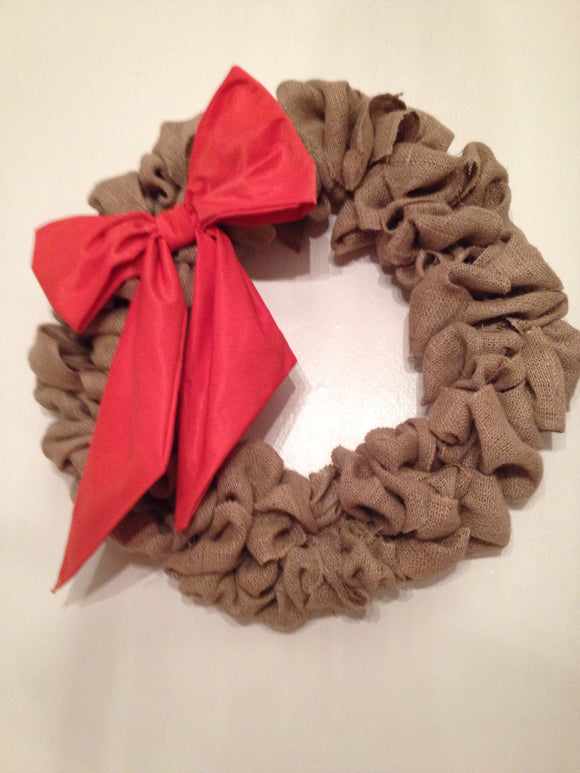 Burlap Fall Wreath Burlap Wreath  Personalized Burlap Custom Wreaths