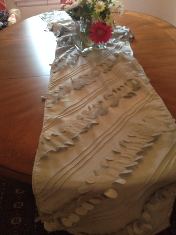Table runner for Your  Holiday table Runner Wide Christmas Burlap Table Runner Christmas Decor