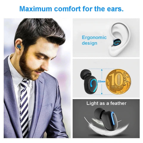 Image of TWS Headphones Wireless Earbuds Earphones True Wireless Stereo Headset
