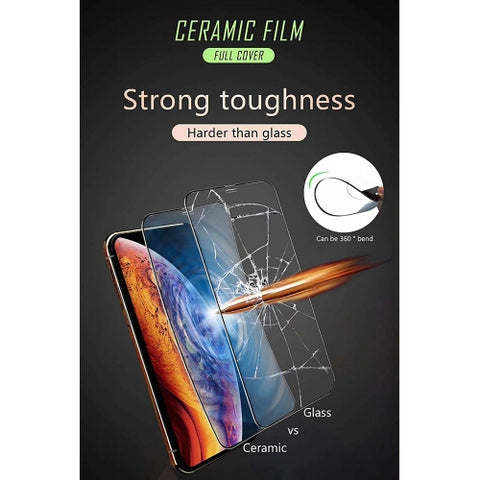 Image of Screen Protector Ceramics Matte White 3D Curved Edge Full Cover