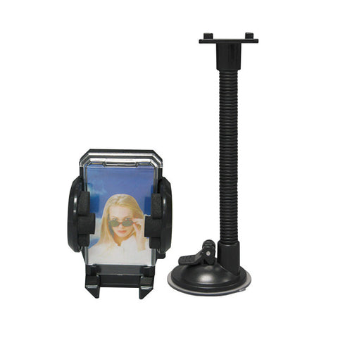 Image of Car Mount Windshield Holder Glass Cradle Swivel