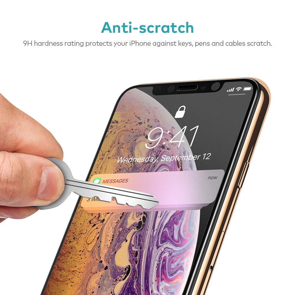 Screen Protector Anti-Glare Tempered Glass Matte 3D Curved Edge