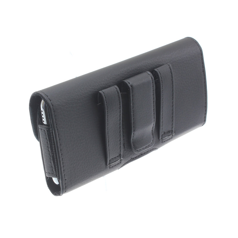 Case Belt Clip Leather Holster Cover Loops Pouch