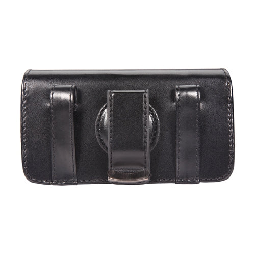 Case Belt Clip Leather Swivel Holster Cover Pouch