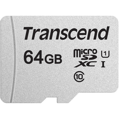 Image of 64GB Memory Card Transcend High Speed MicroSD Class 10 MicroSDXC