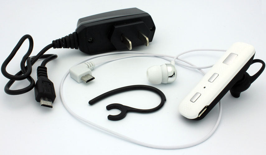 Wireless Earphone Mono Headset Headphone Single Earbud With Mic