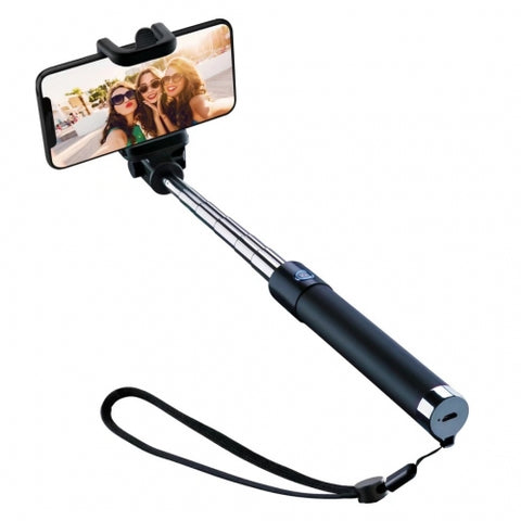 Image of Selfie Stick Wireless Monopod Remote Shutter Built-in Self-Portrait