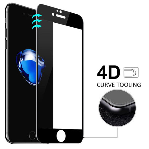 Image of Screen Protector Tempered Glass 4D Touch Curved Edge Full Cover Bubble Free