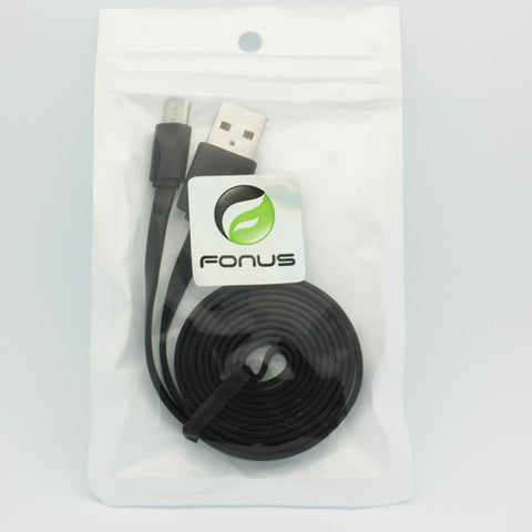Image of 3ft USB Cable MicroUSB Charger Cord Power Wire