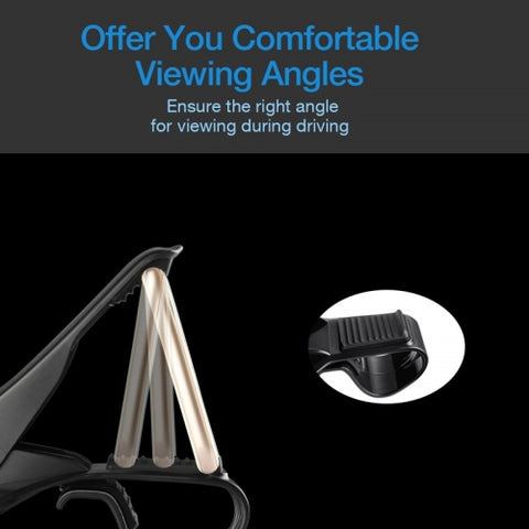 Image of Car Mount Dash Non-Slip Holder Cradle Stand