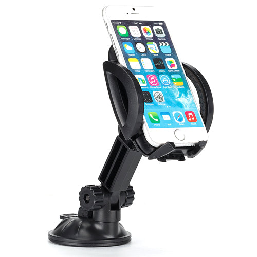 Car Mount Dash Windshield Holder Cradle Rotating