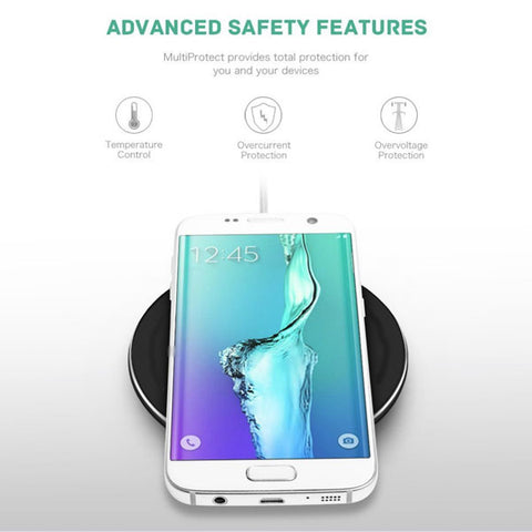 Image of Wireless Charger Fast 7.5W and 10W Charging Pad Slim