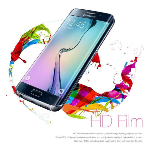 Image of Screen Protector Film TPU Full Cover Guard Edge to Edge HD Clear