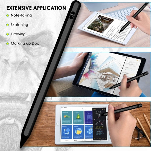 Active Stylus Pen Digital Capacitive Touch Rechargeable Palm Rejection - ONG84