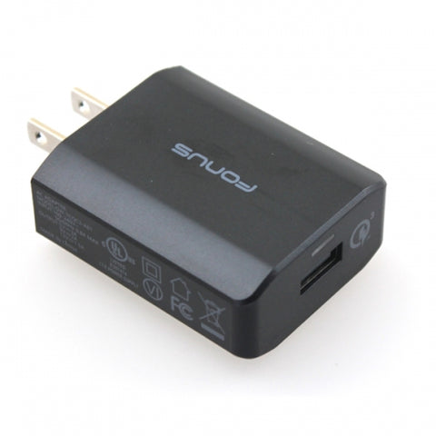 Image of Home Charger Fast 18W USB Port Power Adapter Travel