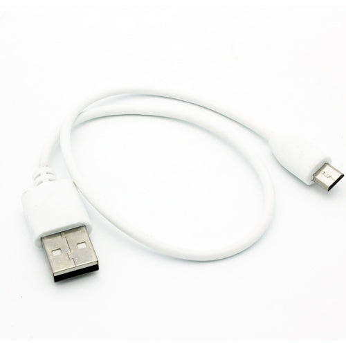 Short USB Cable 1ft MicroUSB Charger Cord Power