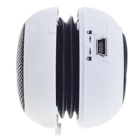 Wired Speaker Portable Audio Multimedia Rechargeable White