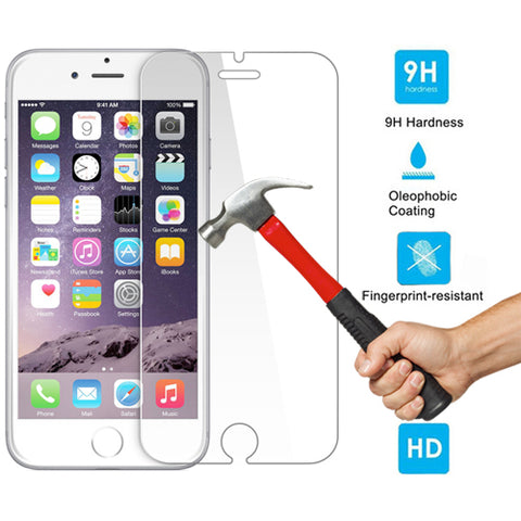 Image of Screen Protector Tempered Glass HD Clear 2.5D Round Edges Display Cover Guard