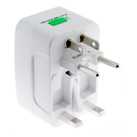 Image of International Charger USB Port Travel Adapter Plug Converter AC Power