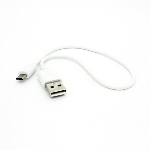 Image of Short USB Cable 1ft MicroUSB Charger Cord Power