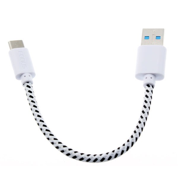 Short USB Cable Type-C Charger Cord Power Wire USB-C