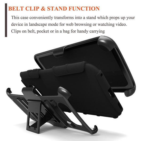 Case Belt Clip Holster Swivel Cover Kickstand Armor