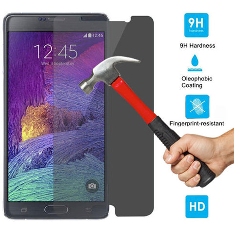 Image of Privacy Screen Protector Tempered Glass Anti-Peep Anti-Spy Case Friendly Round Edge