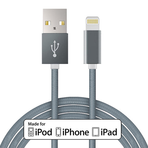 Image of MFi USB Cable 10ft Certified Charger Cord Power Wire