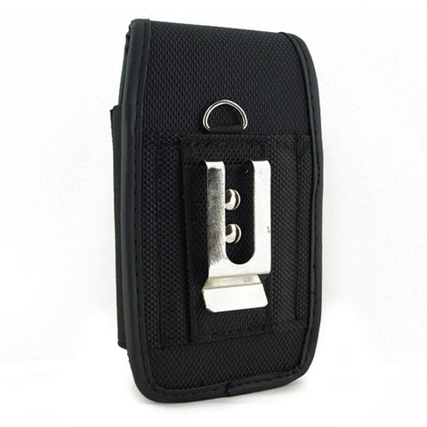 Image of Case Belt Clip Rugged Holster Canvas Cover Pouch