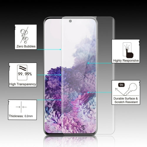 Screen Protector Tempered Glass 3D Curved Edge Full Cover HD Clear