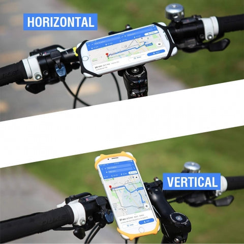 Image of Bicycle Mount Handlebar Silicone Holder Bike Non-Slip Strap