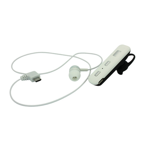 Image of Wireless Earphone Mono Headset Headphone Single Earbud With Mic