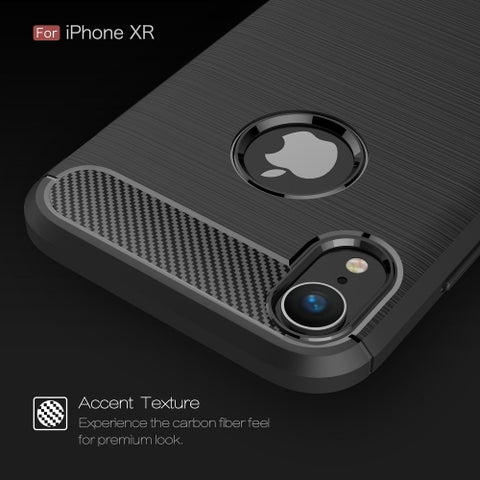 Image of Case Carbon Fiber Slim Fit Cover Reinforced Bumper Shock Absorbent