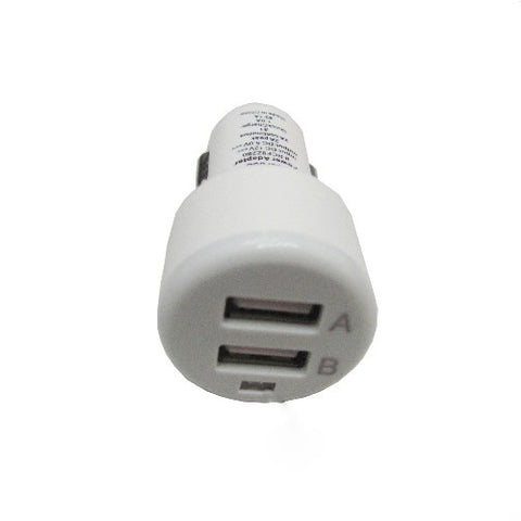 Image of Car Charger 2-Port USB DC Socket Power Adapter Plug-in