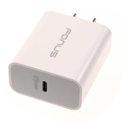 18W PD Home Charger Fast Type-C Power Adapter - White