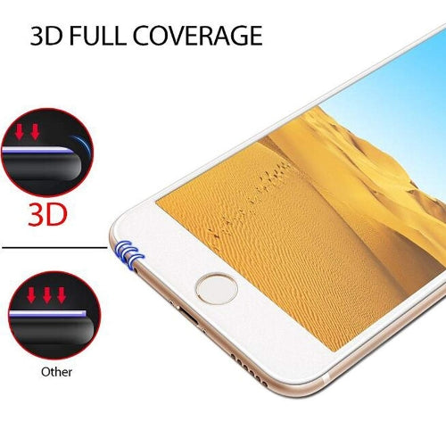 Screen Protector Ceramics Matte White 3D Curved Edge Full Cover