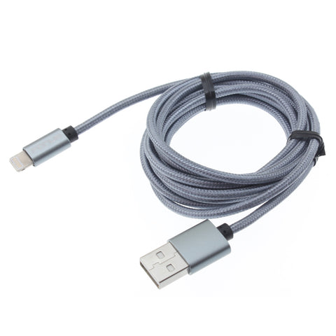 Image of 10ft USB Cable Charger Cord Power Wire Braided Long
