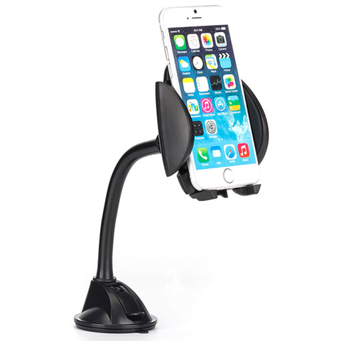 Image of Car Mount Dash Windshield Holder Cradle Rotating