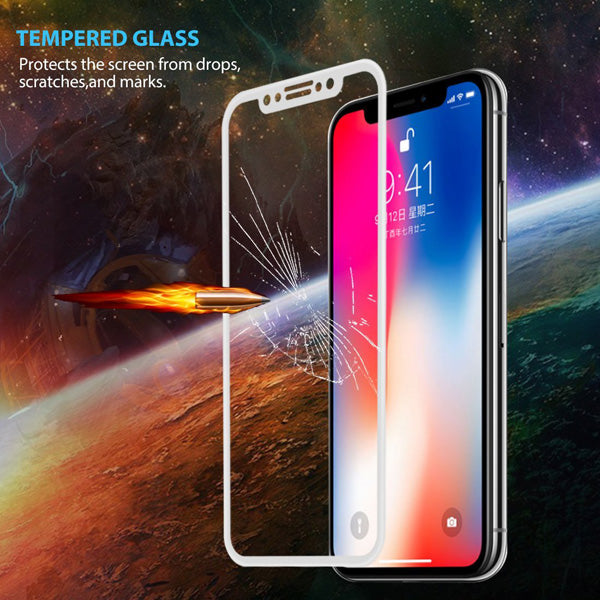 Screen Protector Tempered Glass 5D Touch Curved Edge Full Cover Bubble Free