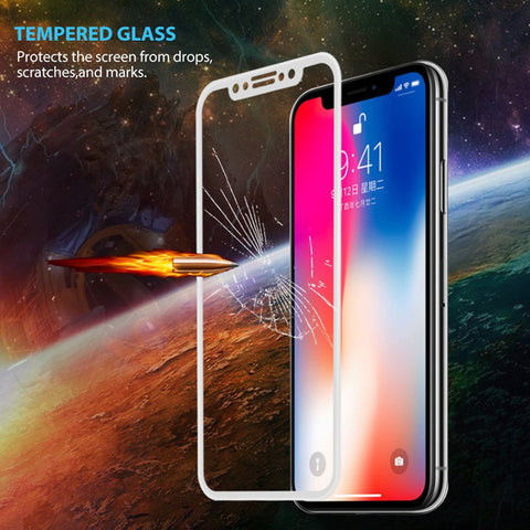 Image of Screen Protector Tempered Glass 5D Touch Curved Edge Full Cover Bubble Free