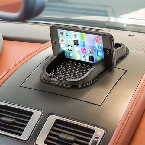 Image of Car Mount Non-Slip Dash Holder Stand Mat