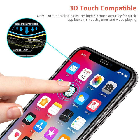 Image of Screen Protector Anti-Glare Tempered Glass Matte 3D Curved Edge