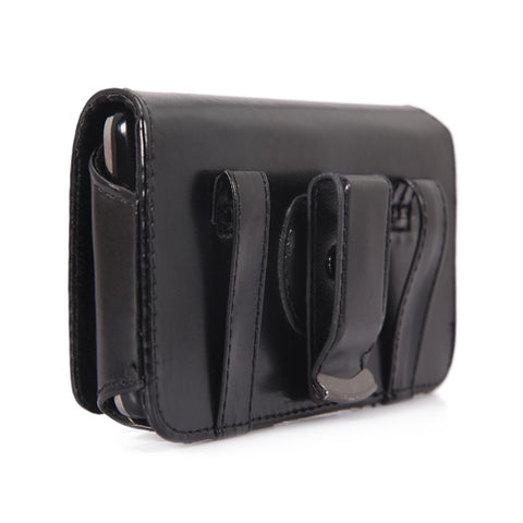 Image of Case Belt Clip Leather Swivel Holster Loops Cover