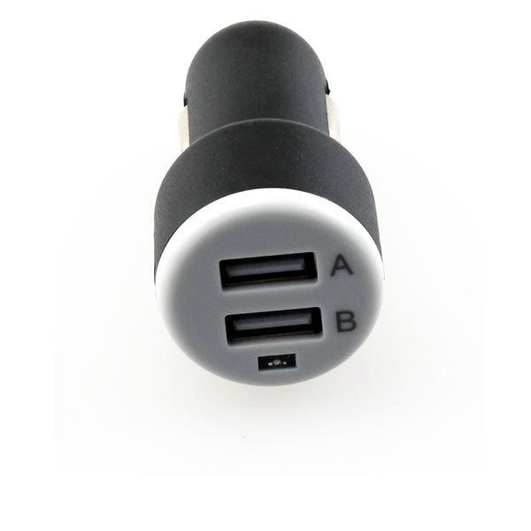 Car Charger 2-Port USB DC Socket Power Adapter Plug-in