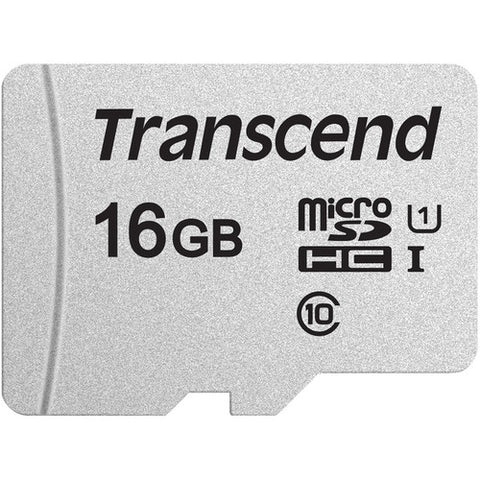 Image of 16GB Memory Card Transcend High Speed MicroSD Class 10 MicroSDHC