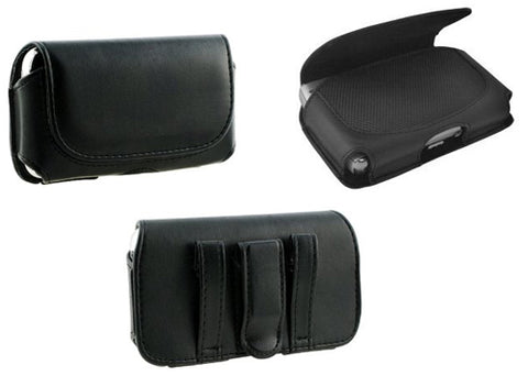 Image of Case Belt Clip Leather Holster Cover Loops Pouch