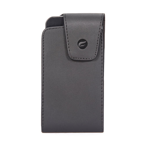 Case Belt Clip Leather Swivel Holster Vertical Cover