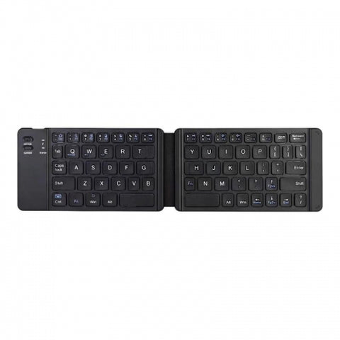 Wireless Keyboard Folding Rechargeable Portable Compact