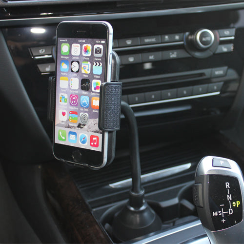 Car Mount Cup Holder Rotating Cradle Dock Gooseneck